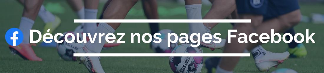 Les pages Facebook de DH Les Sports+